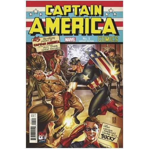CAPTAIN AMERICA ANNIVERSARY TRIBUTE #1 BROOKS VAR