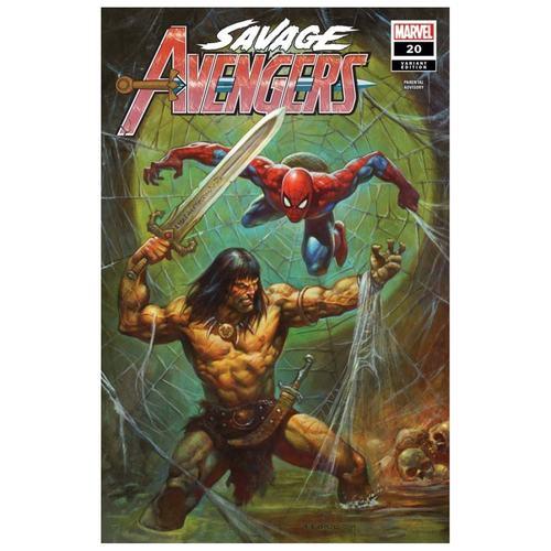 SAVAGE AVENGERS #20 HORLEY VAR