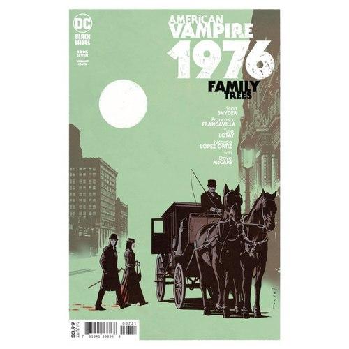 AMERICAN VAMPIRE 1976 #7 (OF 10) CVR B JORGE FORNES VAR (MR)