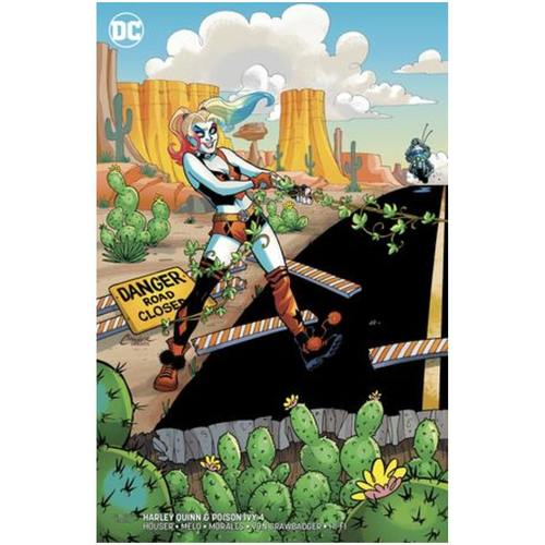 HARLEY QUINN & POISON IVY 4 OF 6 CARD STOCK HARLEY VAR ED