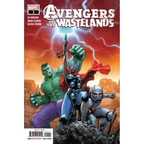AVENGERS OF THE WASTELANDS 1 OF 5