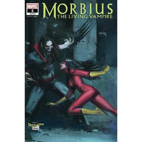MORBIUS 5 PYEONG JUN PARK SPIDER-WOMAN VAR