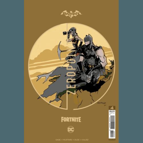 BATMAN FORTNITE ZERO POINT #4 (OF 6) PREMIUM VAR D DONALD MUSTARD CARD STOCK