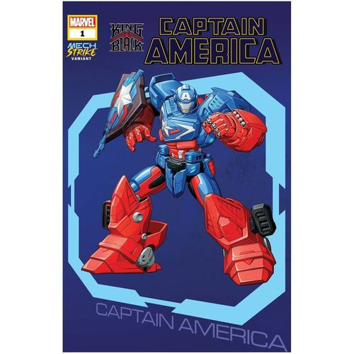 KING IN BLACK CAPTAIN AMERICA #1 AVENGERS MECH STRIKE VAR