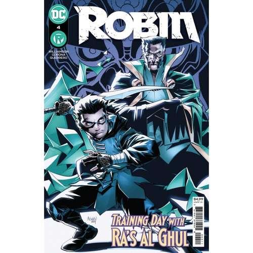 ROBIN #4 CVR A GLEB MELNIKOV