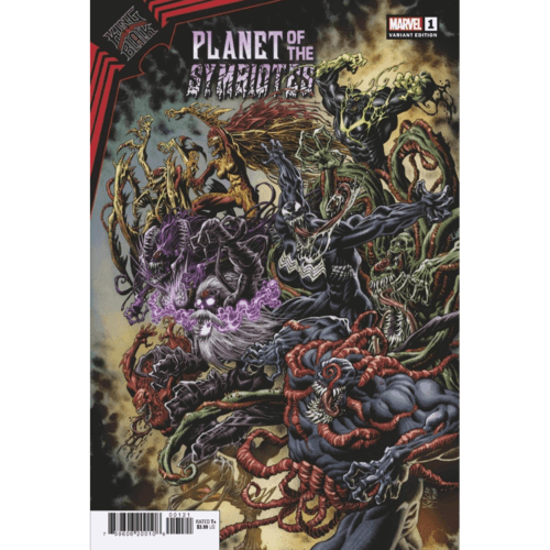 KING IN BLACK PLANET OF SYMBIOTES #1 (OF 3) HOTZ VAR