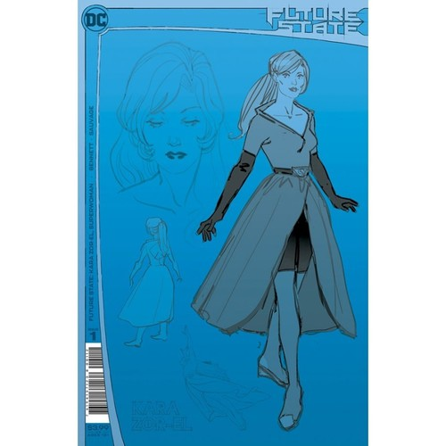 FUTURE STATE KARA ZOR-EL SUPERWOMAN #1 Second Printing
