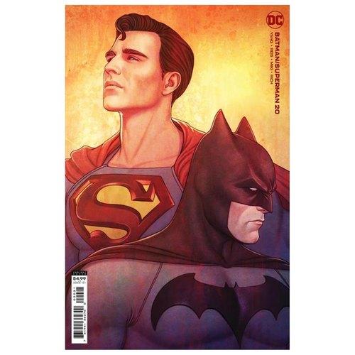 BATMAN SUPERMAN #20 CVR B JENNY FRISON CARD STOCK VAR