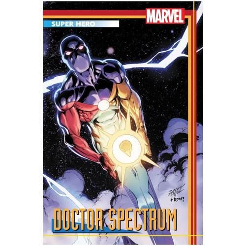 HEROES REBORN #4 (OF 7) BAGLEY TRADING CARD VAR