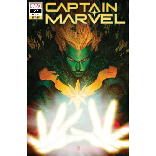 CAPTAIN MARVEL #27 CHANG CAPTAIN MARVEL-THING VAR