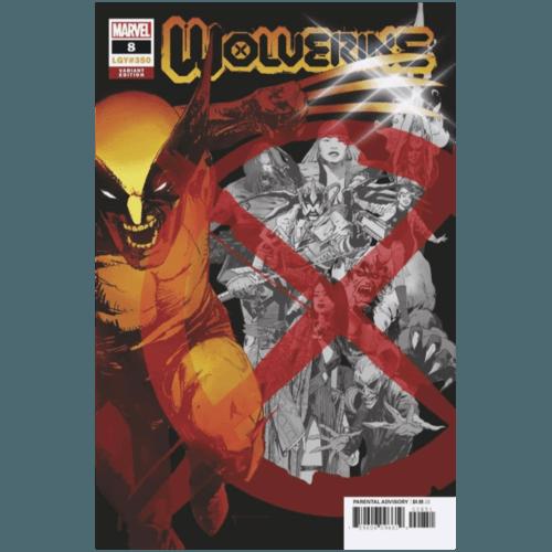 WOLVERINE #8 SIENKIEWICZ VAR