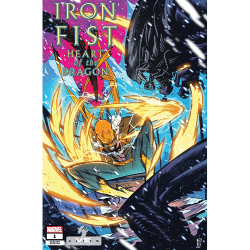 IRON FIST HEART OF DRAGON #1 (OF 6) JACINTO MARVEL VS ALIEN