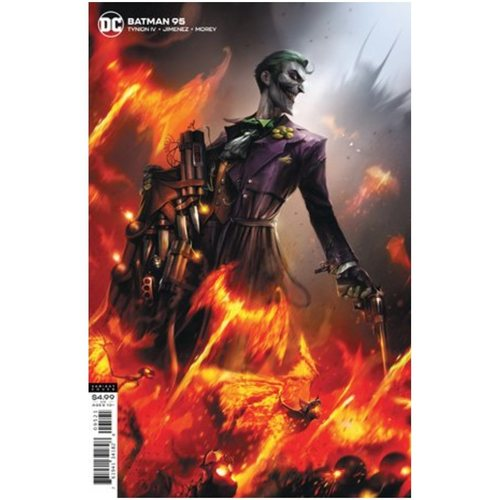 BATMAN #95 CVR B FRANCESCO MATTINA CARD STOCK VAR (JOKER WAR)