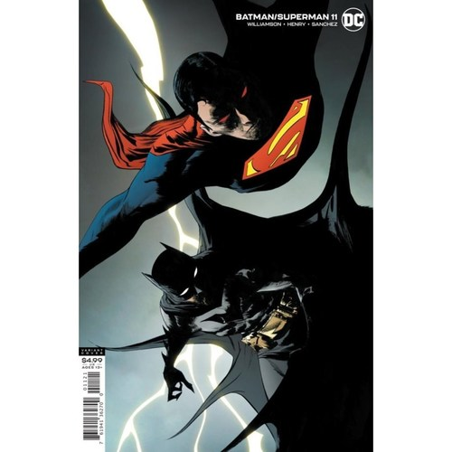 BATMAN SUPERMAN #11 CARD STOCK JAE LEE VAR ED