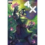 X-MEN FANTASTIC FOUR 2 OF 4 HETRICK FLOWER VAR