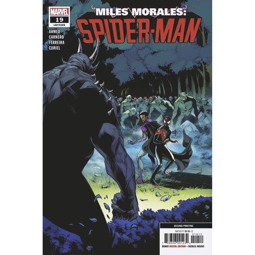 MILES MORALES SPIDER-MAN #19 2ND PTG VAR OUT