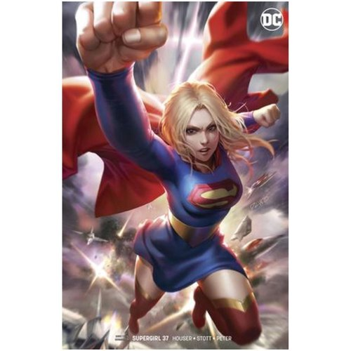 SUPERGIRL 37 CARD STOCK VAR ED
