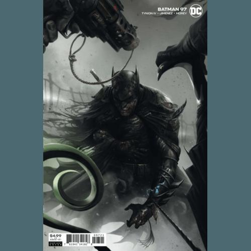 BATMAN #97 COVER B FRANCESCO MATTINA CARD STOCK VARIANT