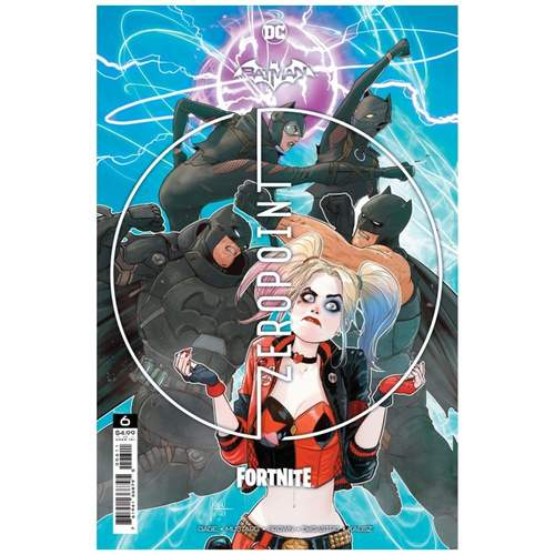 BATMAN FORTNITE ZERO POINT #6 (OF 6) CVR A MIKEL JANN