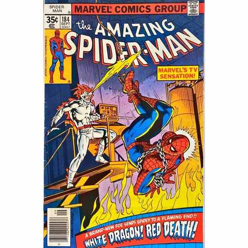 AMAZING SPIDER-MAN #184