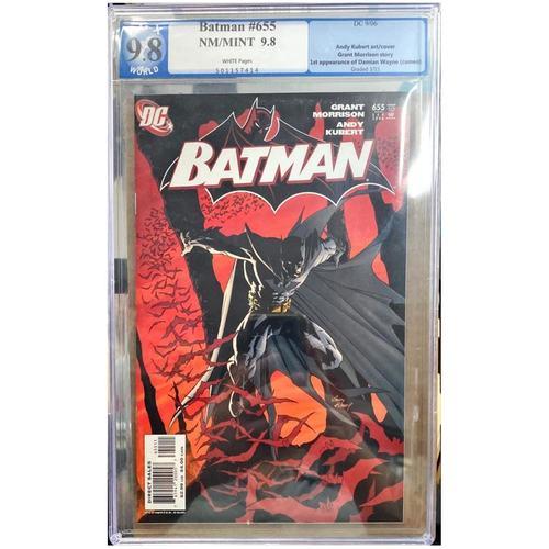 BATMAN #655 PGX 9.8