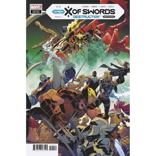 X OF SWORDS DESTRUCTION #1 1:25 MORA VARIANT