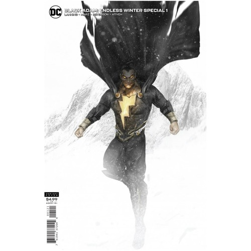 BLACK ADAM ENDLESS WINTER SPECIAL 1 ONE SHOT CVR B BOSSLOGIC CARD STOCK VAR ENDLESS WINTER