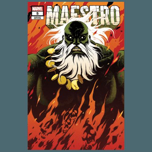 MAESTRO #5 (OF 5) CLOONAN VAR