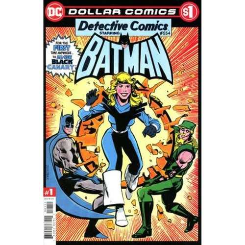 DOLLAR COMICS DETECTIVE COMICS 554