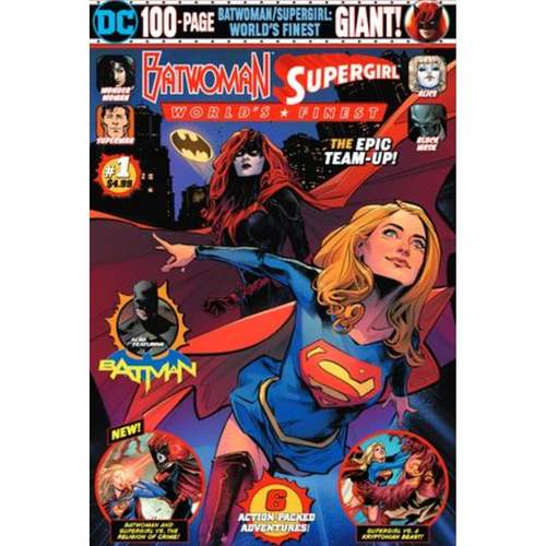 BATWOMAN SUPERGIRL WORLDS FINEST GIANT 1