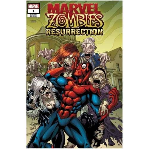 MARVEL ZOMBIES RESURRECTION #1 (OF 4) LUBERA VAR