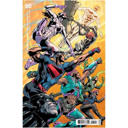 SUPERMAN AND THE AUTHORITY #1 (OF 4) CVR B BRYAN HITCH CARD STOCK VAR