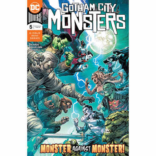 GOTHAM CITY MONSTERS 5 OF 6