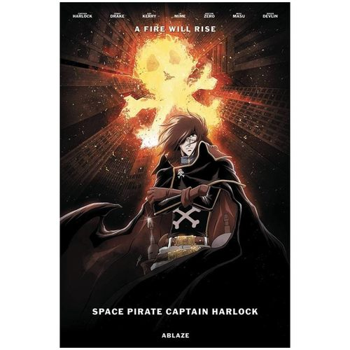 SPACE PIRATE CAPT HARLOCK #2 CVR D JEROME ALQUIE