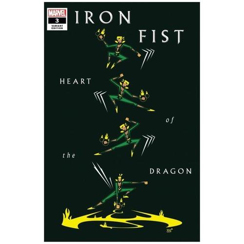IRON FIST HEART OF DRAGON #3 (OF 6) VEREGGE VAR