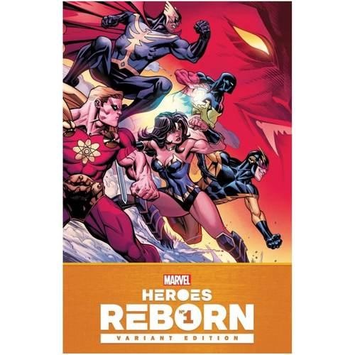 HEROES REBORN #1 1:25 VARIANT
