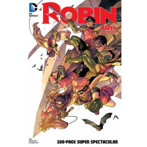 ROBIN 80TH ANNIV 100 PAGE SUPER SPECT 1 2010S YASMIN PUTRI