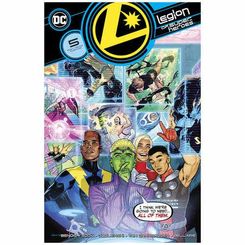 LEGION OF SUPER HEROES 5