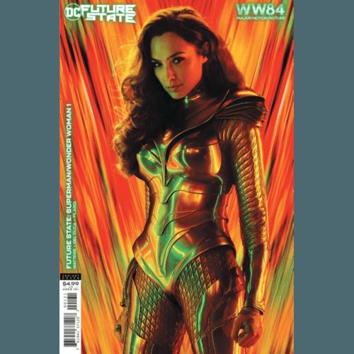 FUTURE STATE SUPERMAN WONDER WOMAN #1 (OF 2) CVR C WONDER WOMAN 1984 MOVIE POSTER ART CARD STOCK VAR
