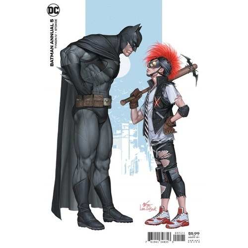 BATMAN ANNUAL #5 CVR B INHYUK LEE CARD STOCK VAR