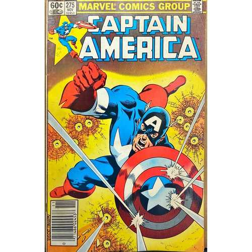 CAPTAIN AMERICA #275 NEWSTAND