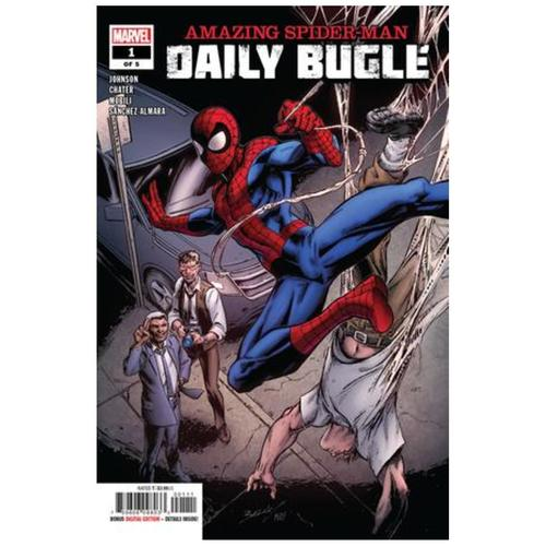 AMAZING SPIDER-MAN DAILY BUGLE 1 OF 5