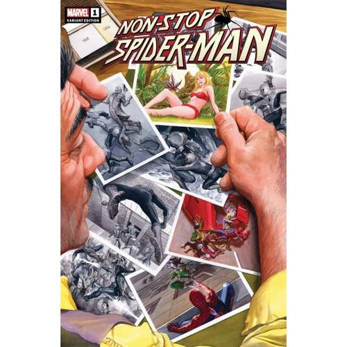 NON-STOP SPIDER-MAN #1 ALEX ROSS VAR