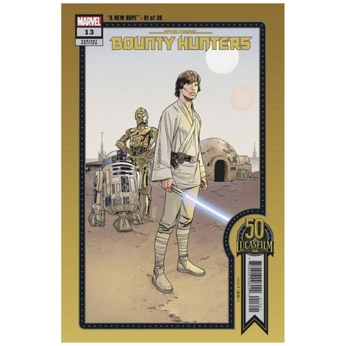 STAR WARS BOUNTY HUNTERS #13 SPROUSE LUCASFILM 50TH VAR