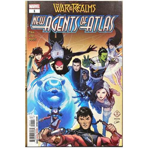 WAR OF THE REALMS : NEW AGENTS OF ATLAS #1 9.0 CONDITION