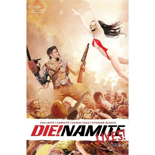 DIE!NAMITE LIVES #1 CVR B SUYDAM