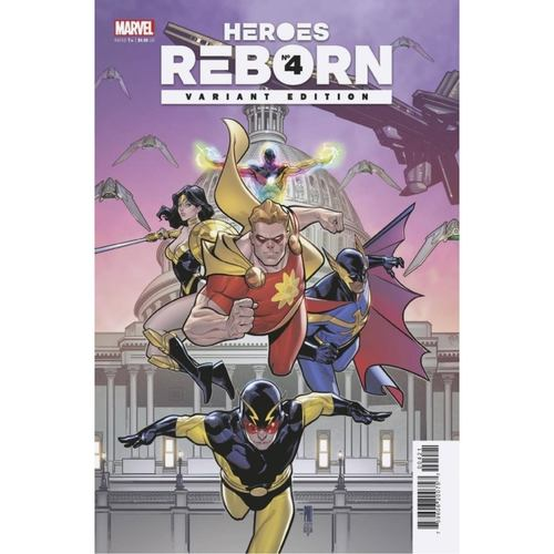 HEROES REBORN #4 1:25 Medina Squadron Supreme Variant