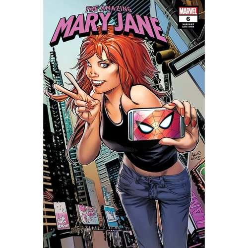 AMAZING MARY JANE 6 LAND VAR