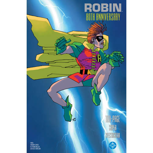 ROBIN 80TH ANNIV 100 PAGE SUPER SPECT 1 1980S FRANK MILLER