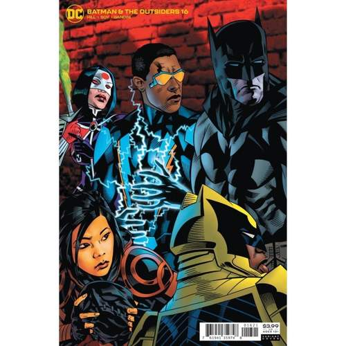 BATMAN & THE OUTSIDERS #16 CVR B MICHAEL GOLDEN VAR